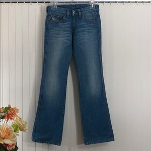 """DIESEL Boot Cut Jeans Made in Italy Sz 24"""""""